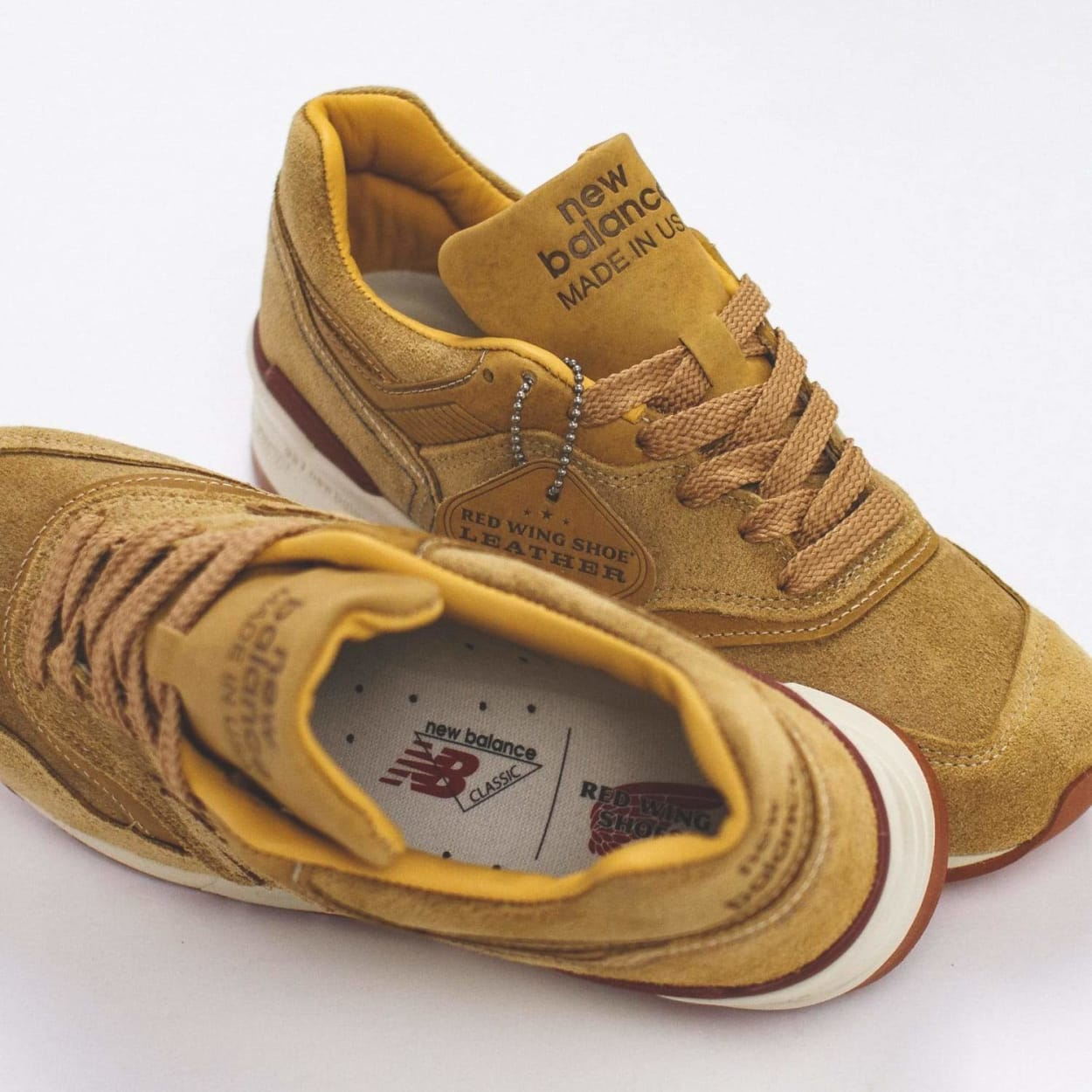 New Balance x Red Wing 997 Made In USA - M997RW
