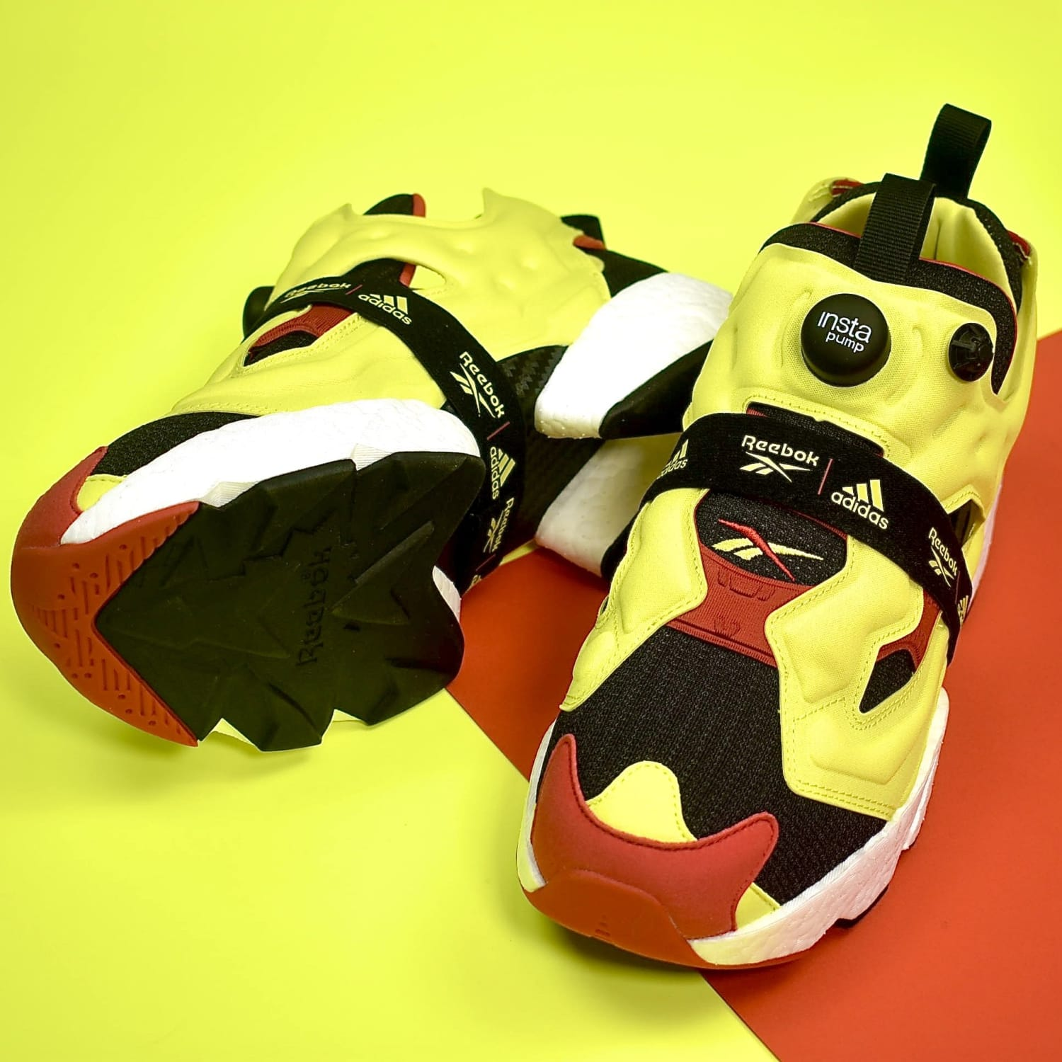 Reebok Instapump Fury Makes History with Adidas Boost Technology
