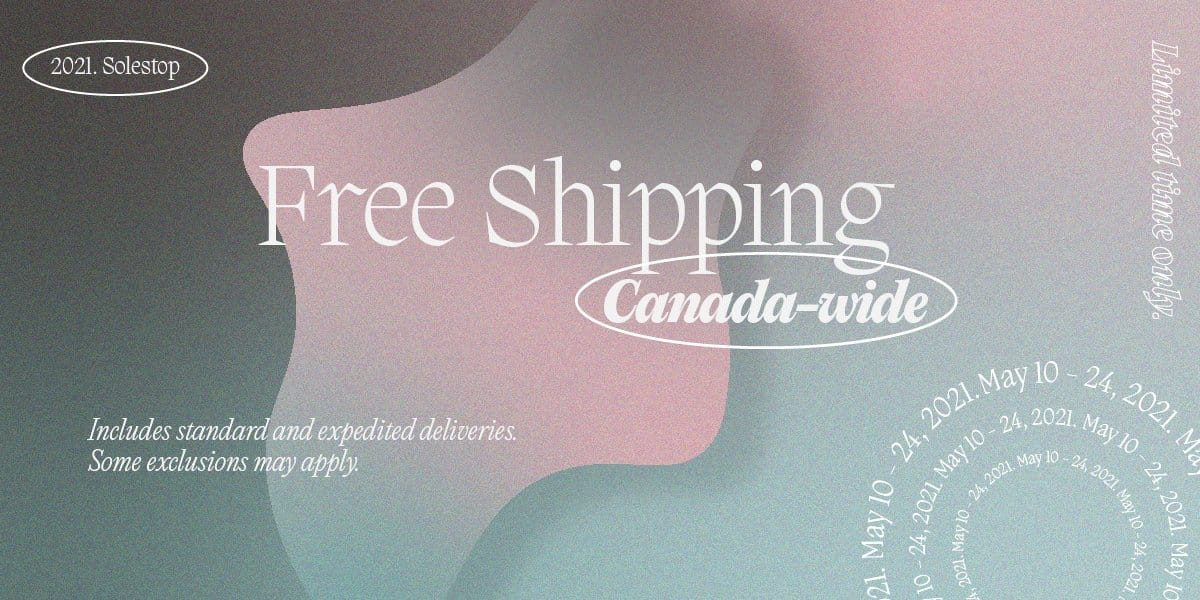 FREE SHIPPING CANADA-WIDE EXTENDED