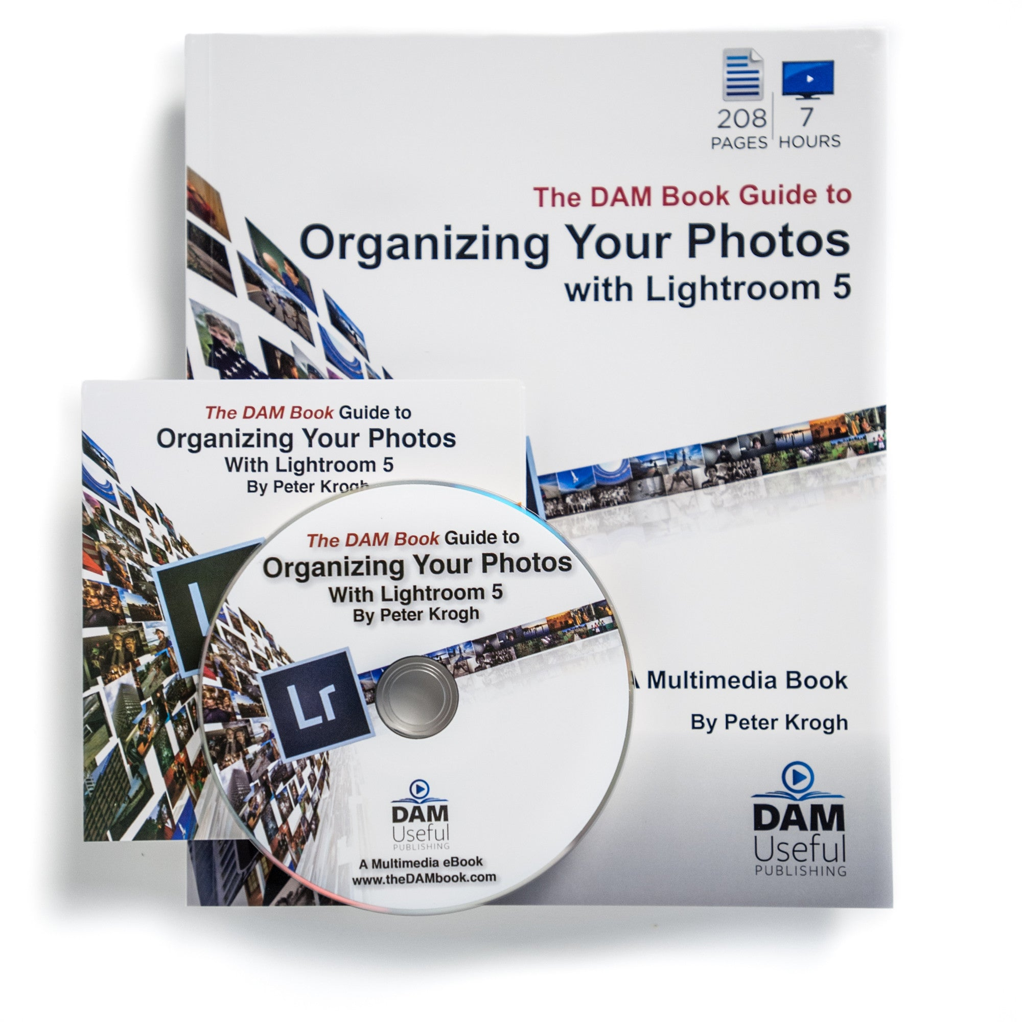 Paperback: Organizing Your Photos with Lightroom 5 (+ DVD)