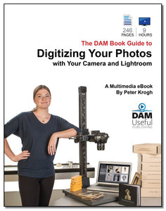 Digitizing Your Photos with Your Camera and Lightroom - digital formats
