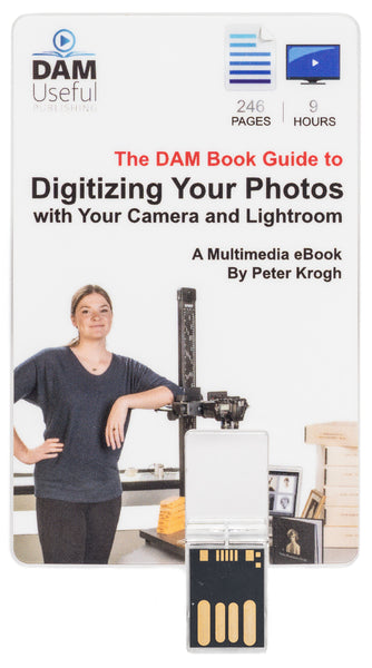 Digitizing Your Photos with Your Camera and Lightroom