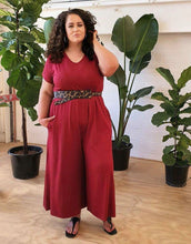 Load image into Gallery viewer, Red Relaxed | Jumpsuit ~ LAST ONE!!!