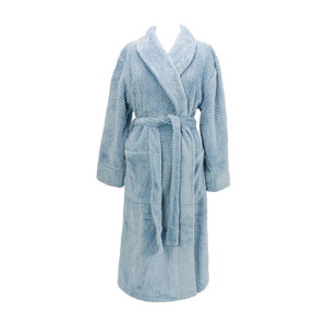 Cosy Luxe Dusty Pink or Powder Blue Waffle | Bath Robe