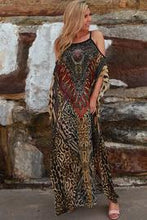 Load image into Gallery viewer, Animal Print Chiffon Boho | Dress