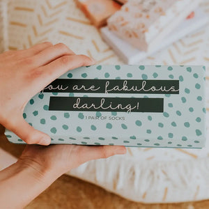 """You are fabulous darling!"" 