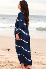 Load image into Gallery viewer, Navy & White Tie Dye | Cape