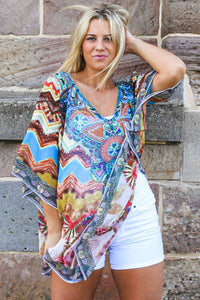 Mother Earth Chiffon Boho | Kaftan