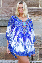 Load image into Gallery viewer, Wild Warrior Chiffon Bohemian | Kaftan