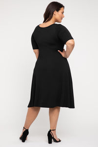 Bamboo Body Harmony Dress in Black