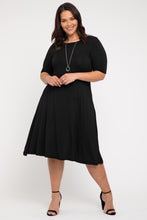 Load image into Gallery viewer, Bamboo Body Black Harmony Dress