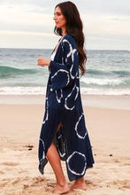Load image into Gallery viewer, Boho Tie Dye Navy | Kimono