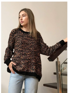 Black Multi-Coloured | Jumper