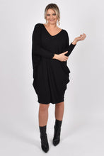 Load image into Gallery viewer, Long Sleeve Black Miracle | Dress