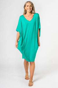 Peacock Green Miracle | Dress