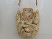 Load image into Gallery viewer, Rattan Shoulder | Bag