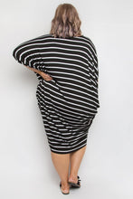 Load image into Gallery viewer, Black & White Stripe Miracle | Dress