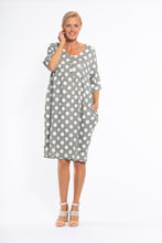 Load image into Gallery viewer, Kurves Khaki Spot | Dress