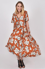 Load image into Gallery viewer, Maple Wildflower Peak Maxi | Dress