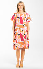 Load image into Gallery viewer, Breezy Peach Splash | Dress
