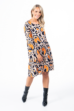 Load image into Gallery viewer, Caramel Swirl Wave | Dress