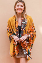 Load image into Gallery viewer, Becca Mustard Floral | Scarf