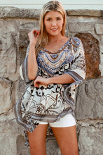 Load image into Gallery viewer, Tribal Earth Chiffon Bohemian | Kaftan
