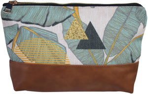 Tropical Aqua | Cosmetic Bag