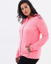 Load image into Gallery viewer, Airlie Pink Hoodie Jacket | Activewear