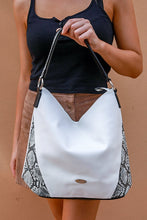 Load image into Gallery viewer, Snake Skin Tote | Bag