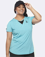 Load image into Gallery viewer, Zest Sea Green Short Sleeve Top | Activewear