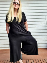 Load image into Gallery viewer, Black Relaxed | Jumpsuit