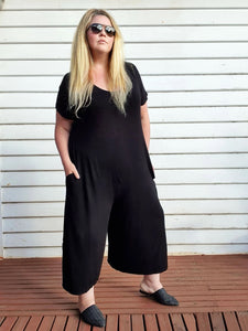 Black Relaxed | Jumpsuit