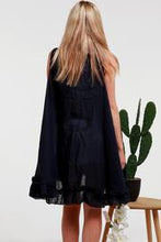 Load image into Gallery viewer, Navy Frilled | Vest