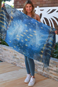 Midnight Magic Oil Paint | Scarf
