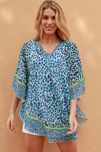Load image into Gallery viewer, Sea Leopard Chiffon Bohemian | Kaftan