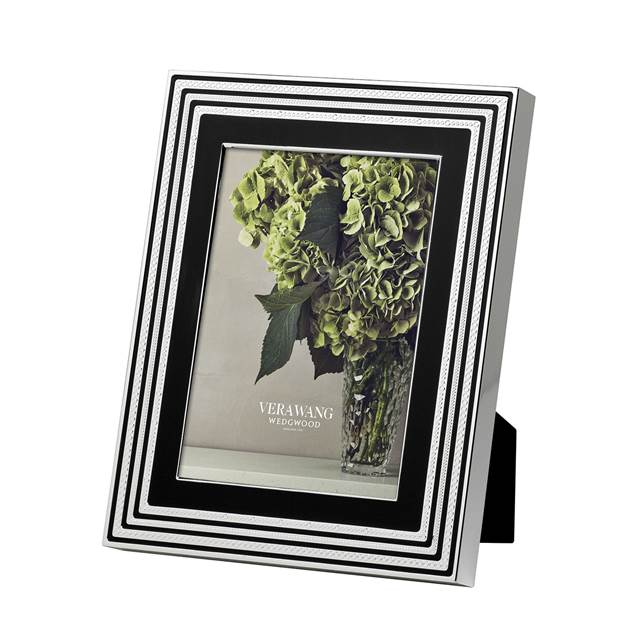 Wedgwood-Vera Wang With Love Black 13x18 Çerçeve-Luxuria