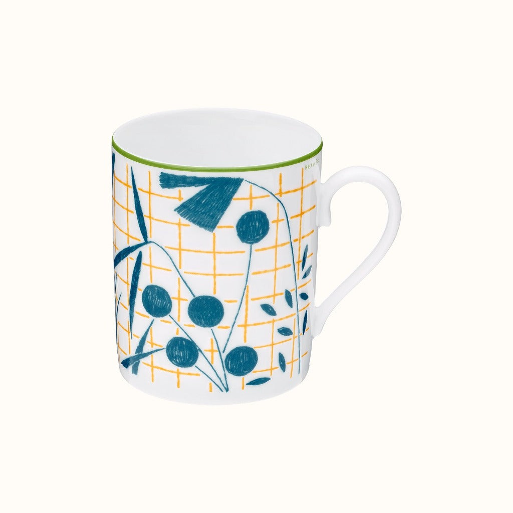 Hermès I A Walk In The Garden Mug I Luxuria