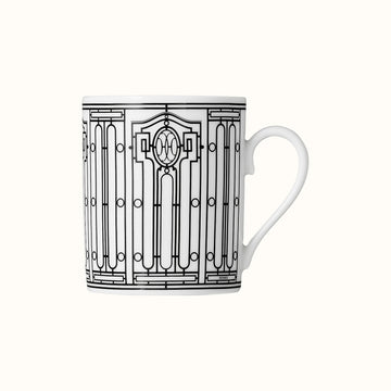 Hermes-No1 H Deco Beyaz Mug-Luxuria