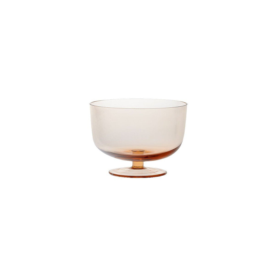 Luxuria-Luxuria Ayaklı Pembe Bowl (16 cm)-Luxuria