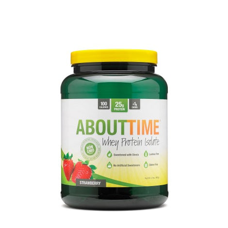 ABOUTTIME WHEY PROTEIN ISOLATE - San Mateo Sports Nutrition