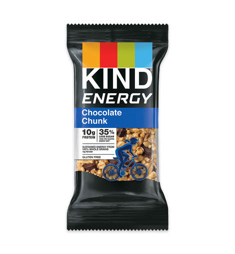 KIND ENERGY BAR - CHOCOLATE CHUNK - San Mateo Sports Nutrition