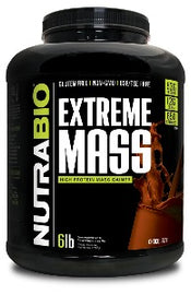 Extreme Mass Weight Gainer by NutraBIO - San Mateo Sports Nutrition