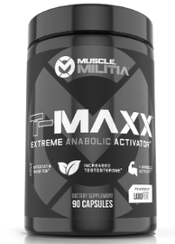 TMAXX TEST BOOSTER by Muscle Militia - San Mateo Sports Nutrition