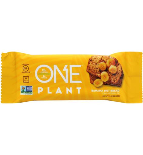 ONE PLANT PROTEIN BAR - BANANA NUT BREAD - San Mateo Sports Nutrition