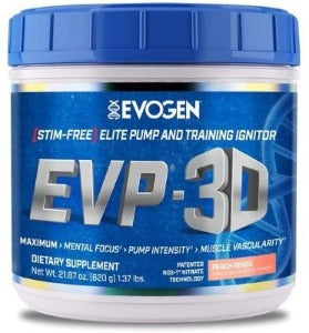 EVOGEN EVP 3D PRE WORKOUT - San Mateo Sports Nutrition