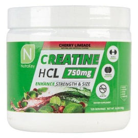 CREATINE HCL 750MG by Nutra Key - San Mateo Sports Nutrition