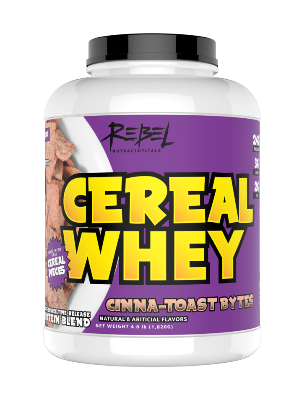 CEREAL WHEY PROTEIN POWDER - San Mateo Sports Nutrition