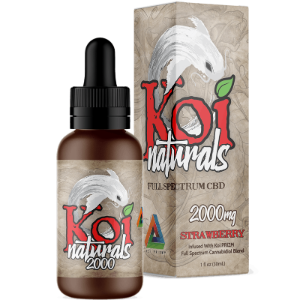 KOI Naturals Hemp Extract CBD Tincture - San Mateo Sports Nutrition