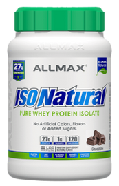 ALLMAX ISONATURAL ISOLATE PROTEIN - San Mateo Sports Nutrition
